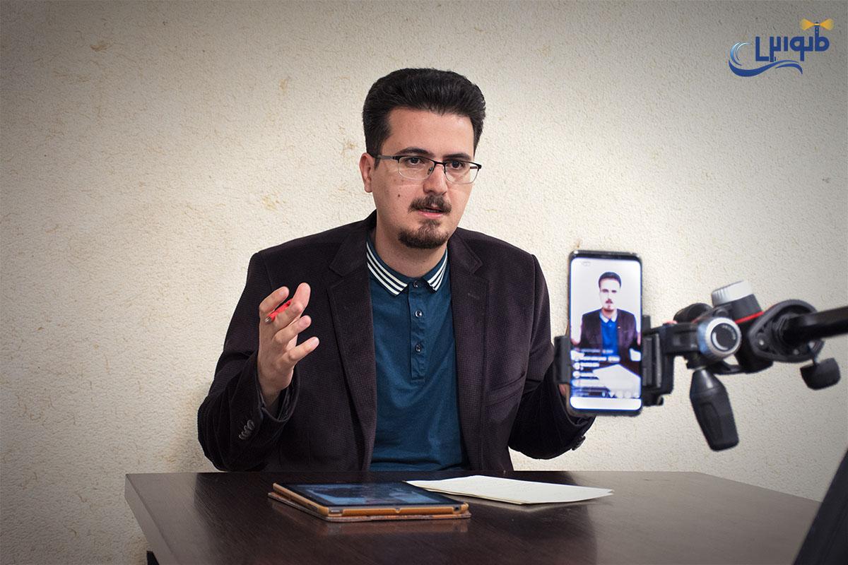 لایوهای اینستاگرام سید مجتبی حسینی نیا - 1